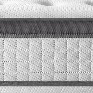 Colchón Alta Gama Berlin, 30 cm de Altura, Núcleo de Muelles Ensacados, Transpirable, Ortopédico y Reversible