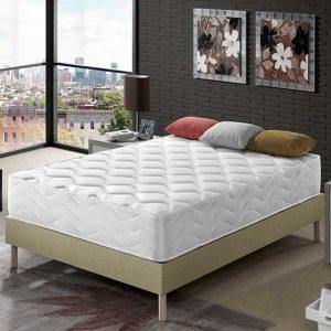 Colchón de Látex Mykonos, 25 cm de Altura, Confort Total y Perfecta Adaptabilidad