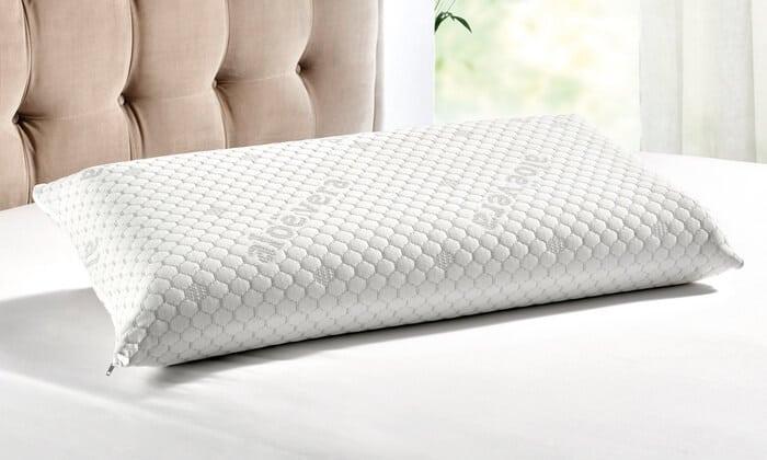 almohada viscoelástica de aloe vera