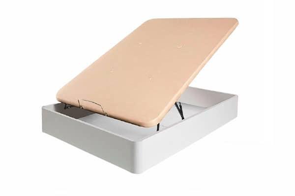 Canapé Abatible Ebro de 27 cm de altura con Gran Capacidad, Tapizado 3D y Válvulas de Transpiración de Máxima Calidad