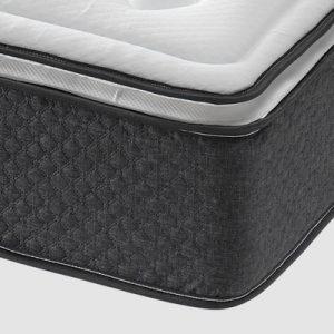 Pack Somier tapizado Marsella + Colchón de Alta Gama Amsterdam Deluxe